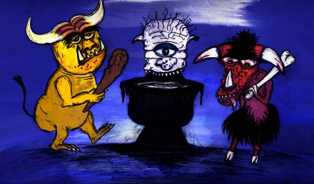 Monstur & Radeisje: Griezels