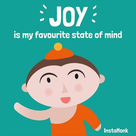 JOY is my favourite state of mind. #InstaMonk #hap…
